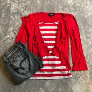 Amy Byer kid's red top